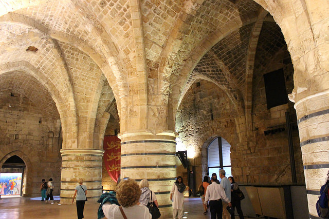 One of the great halls of Akko